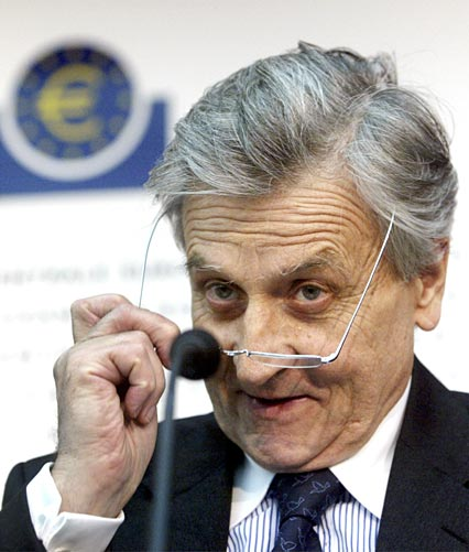 Sr. Trichet, Presidente del Banco Central Europeo