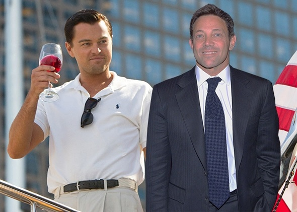 DiCaprio & Jordan Belfort-The Wolf of Wall Street_Getty images