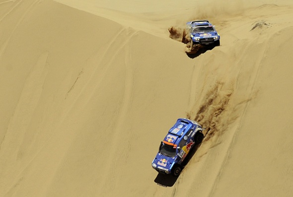 Rally Dakar autos_desert
