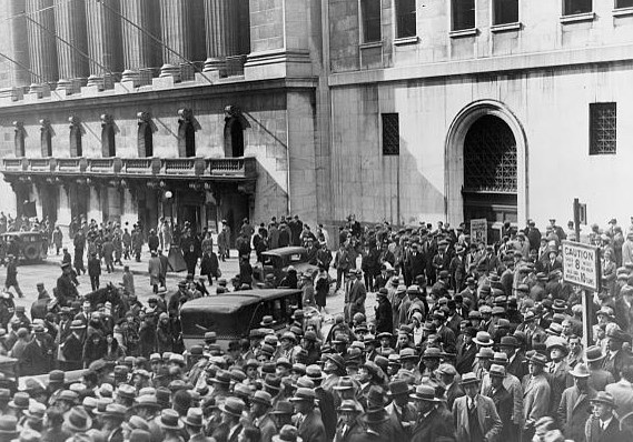 Crash en Wall Street 1929