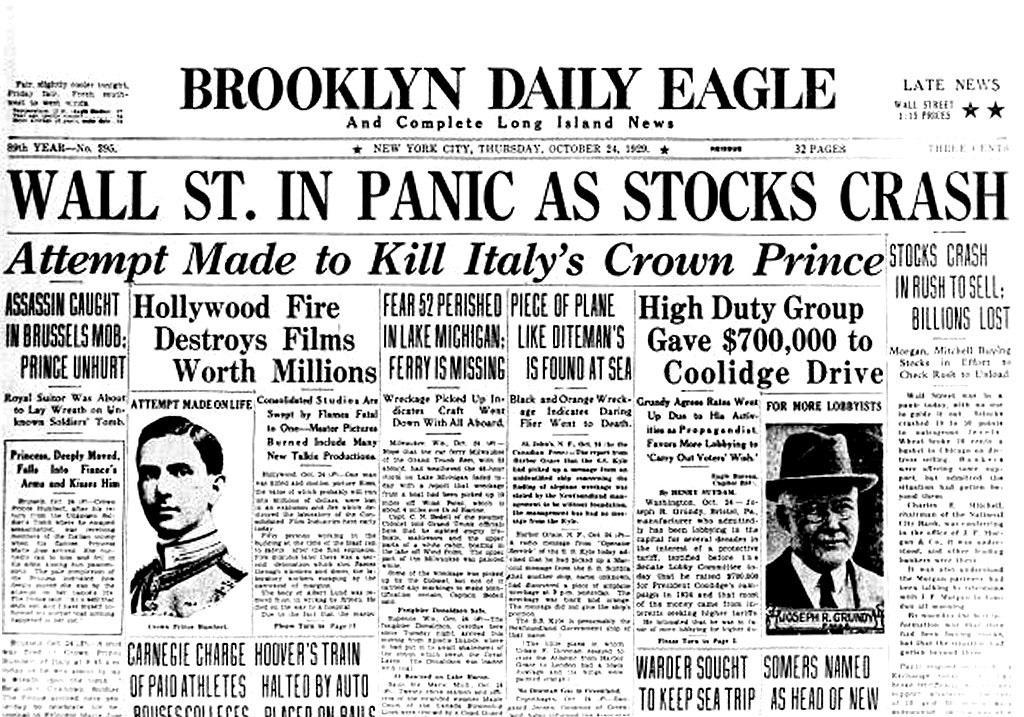 Resultado de imagen para Fotos: 1893: Crash de la Bolsa de Nueva York.