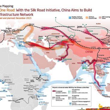 La nueva ruta de la seda: Los 6 corredores comerciales claves en Asia.