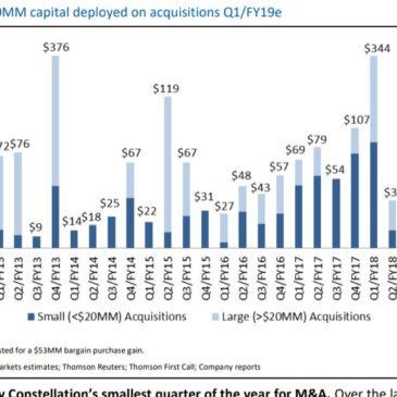 ¿Es Constellation Software, la empresa más rentable de la historia?